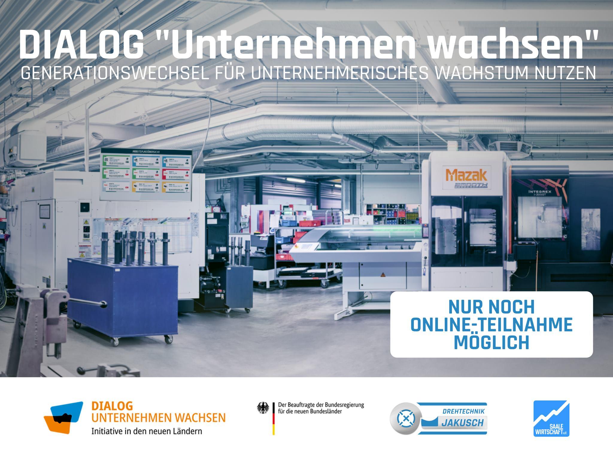 """DIALOG """"Unternehmen wachsen"""" bei der Drehtechnik Jakusch GmbH"""