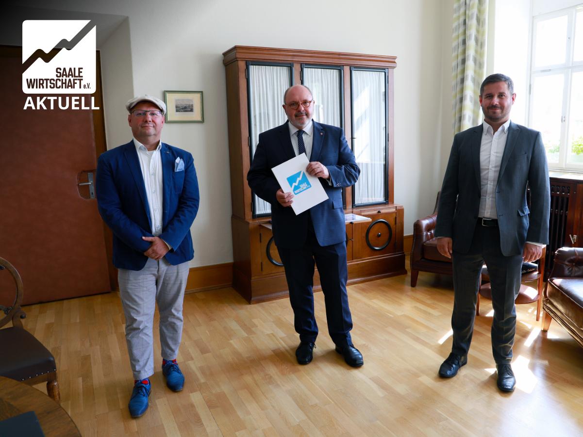 SaaleWirtschaft trifft … Bürgermeister Jörg Reichl