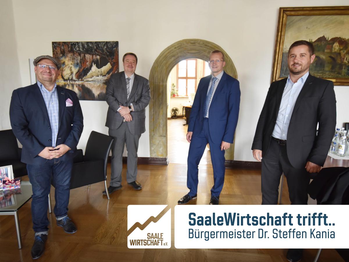 SaaleWirtschaft trifft … Bürgermeister Steffen Kania