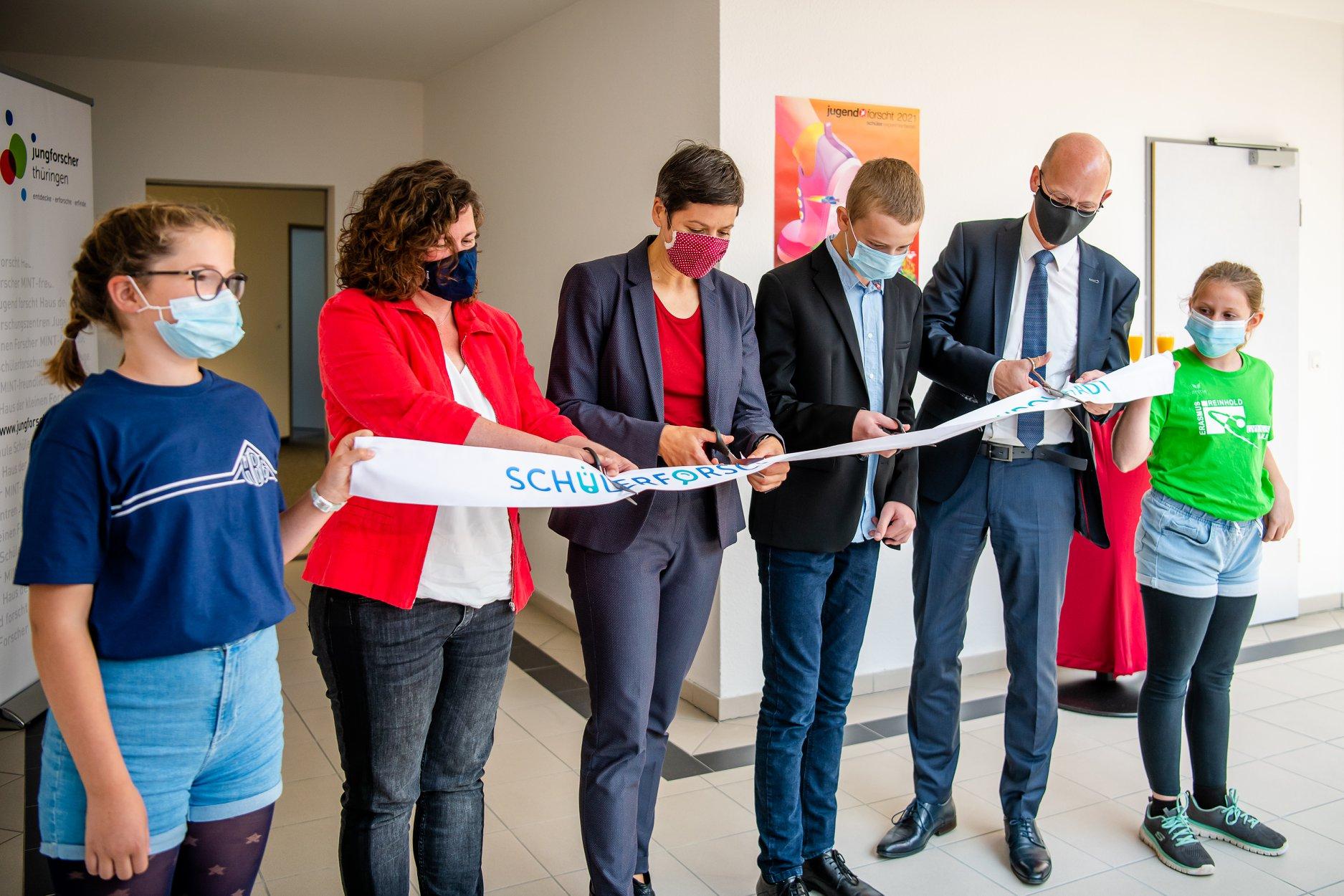Eröffnung des Schülerforschungszentrum Rudolstadt (SFZ)