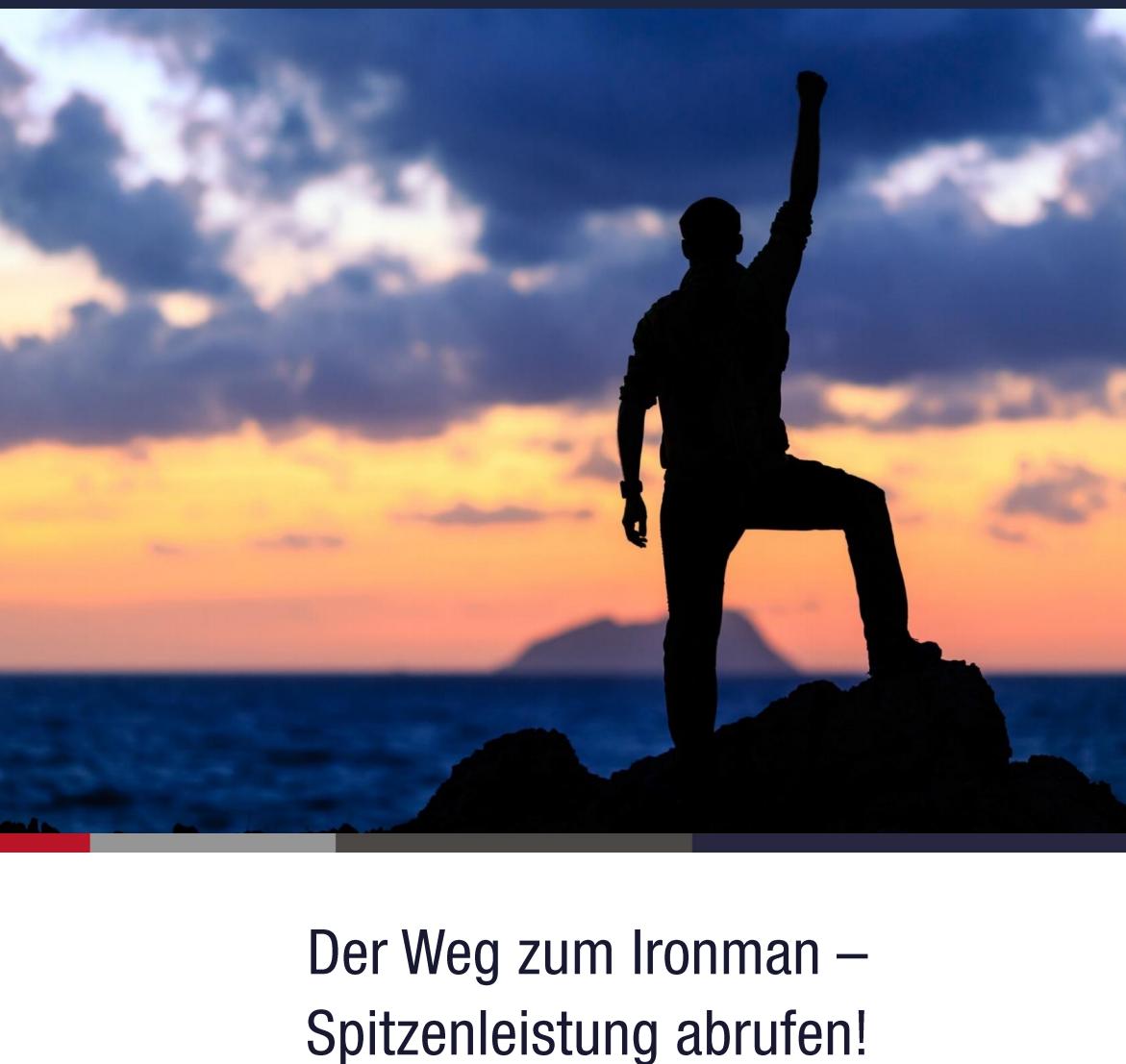 Der Weg zum Ironman - Spitzenleistung abrufen!